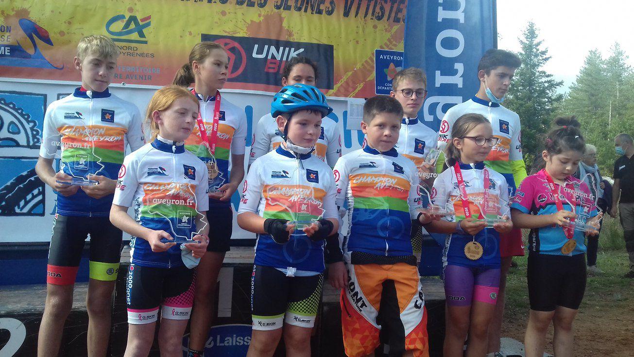 Championnat d'Aveyron Jeunes VTTistes - Laissac - Dimanche 20 septembre 2020