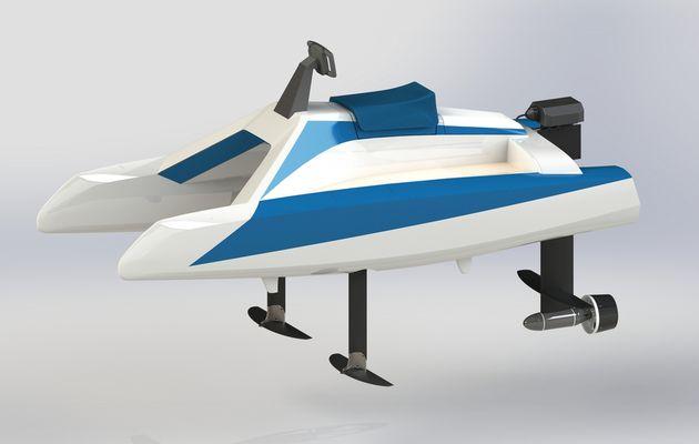 Nautic 2019 - avec l'Overboat, Neocean réinvente le scooter des mers