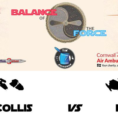 Balance of the Force, round 1: Brian Collis (Rebel Alliance) vs Nébal (Scum and Villainy) (Battle report in English)