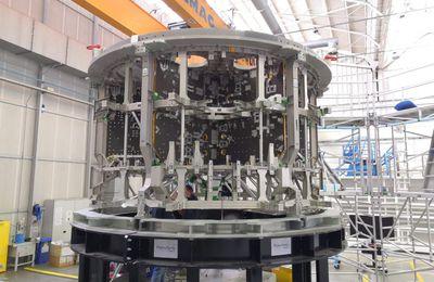 Premières images du 3ème module de service pour Artemis III