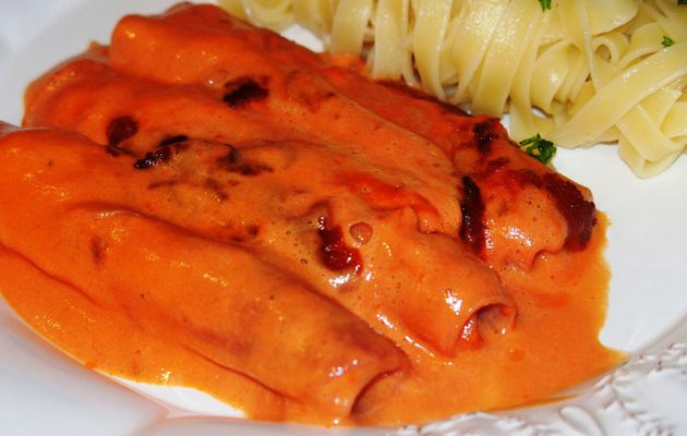 Jambon sauce au madère