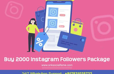Buy real 2000 indian Instagram followers