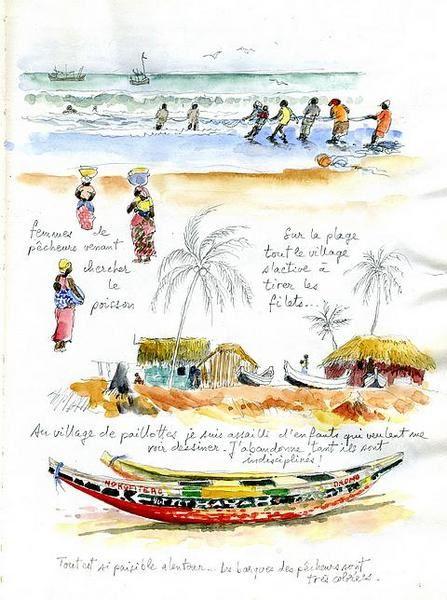 Album - une-plage-au-ghana