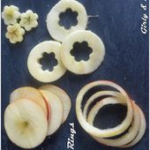 Apple Rings (concours la pomme Ariane Les Naturianes) - Girly and Delicious
