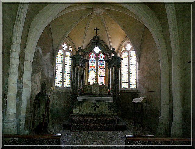 Diaporama de l'église fortifiée d'Aouste