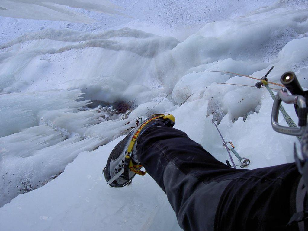 Chez nous la glace y est belle, regardez!