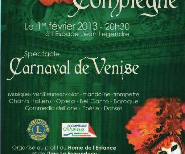 Venise s'invite à Compiègne
