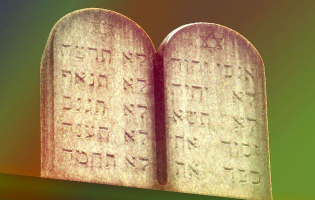 les Dix commandements à bafouer...