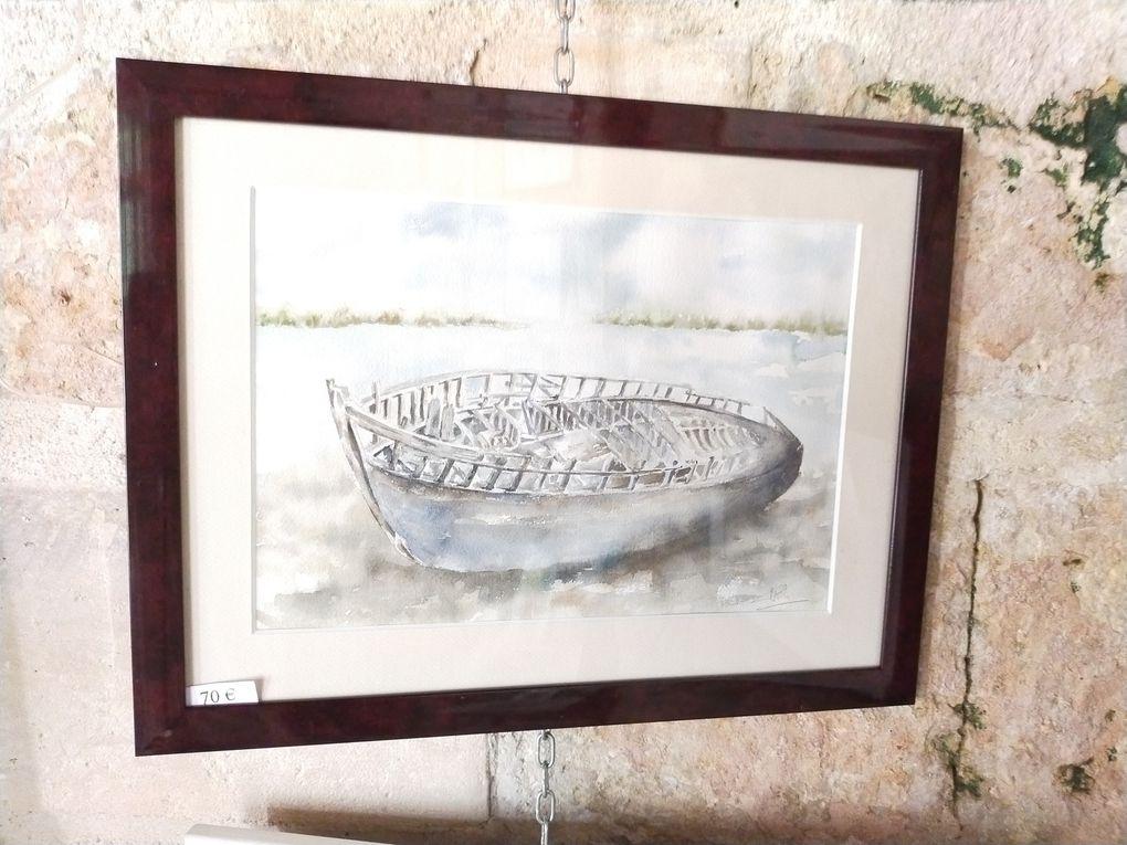 Exposition à la galerie Meignaud de la Porte d'Ardon à Laon