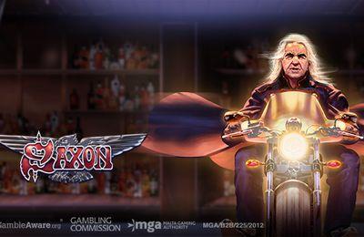 Saxon : un populaire groupe de rock de plus intégré dans une machine à sous en ligne