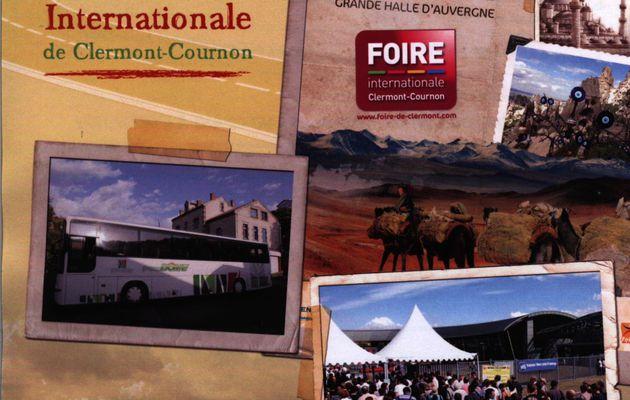 """Le """"bus des montagnes"""" à la foire de Clermont-Cournon - Mardi 11 septembre 2012"""