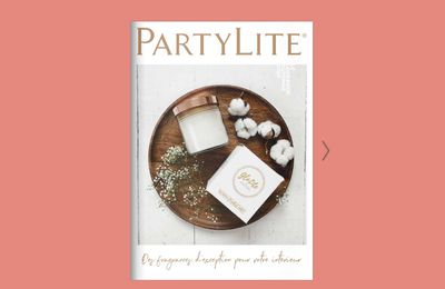 Catalogue Automne et Halloween PartyLite de Septembre 2020