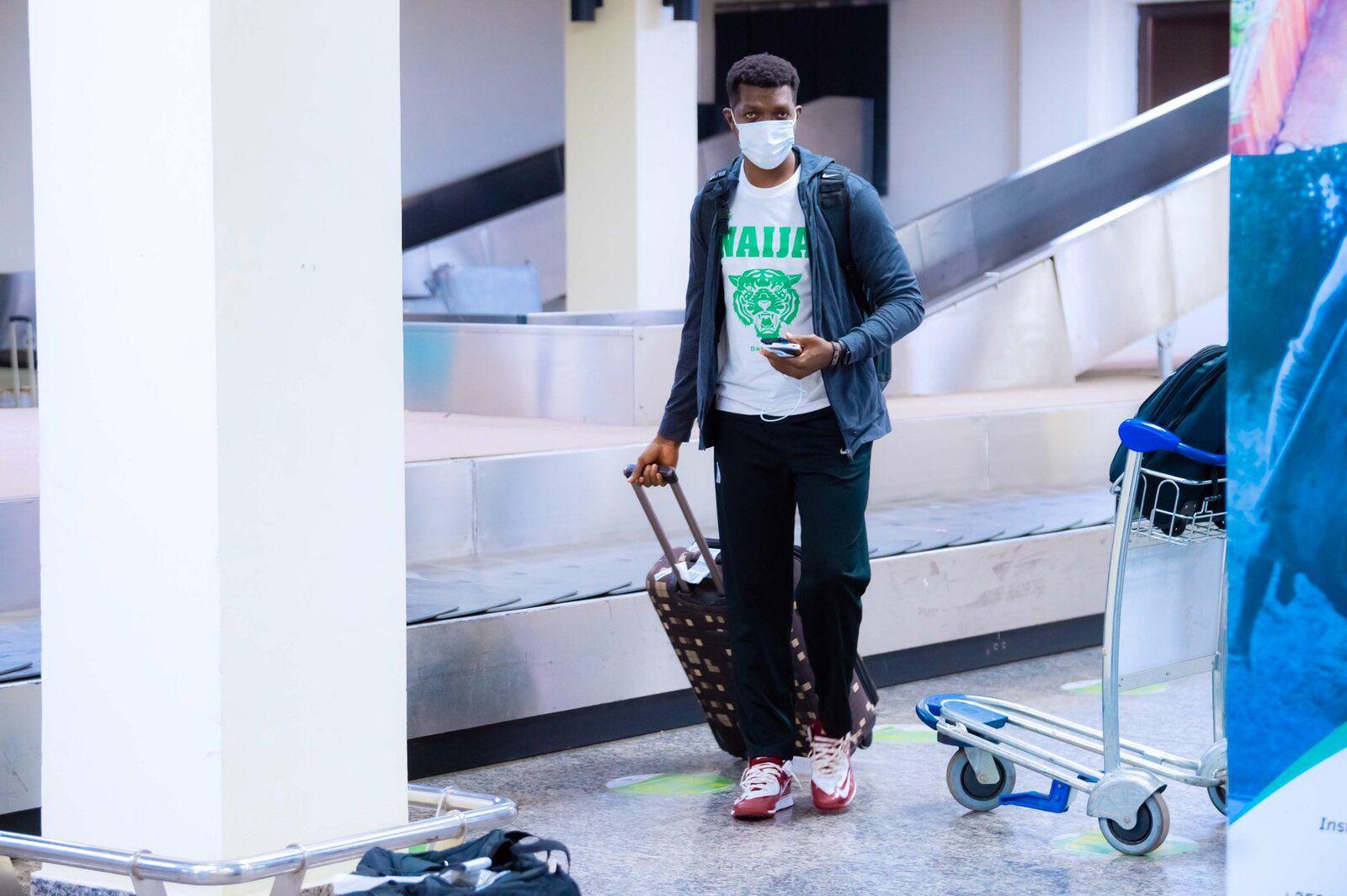 AfroBasket 2021 : les D'Tigers du Nigéria poses leurs valises à Kigali