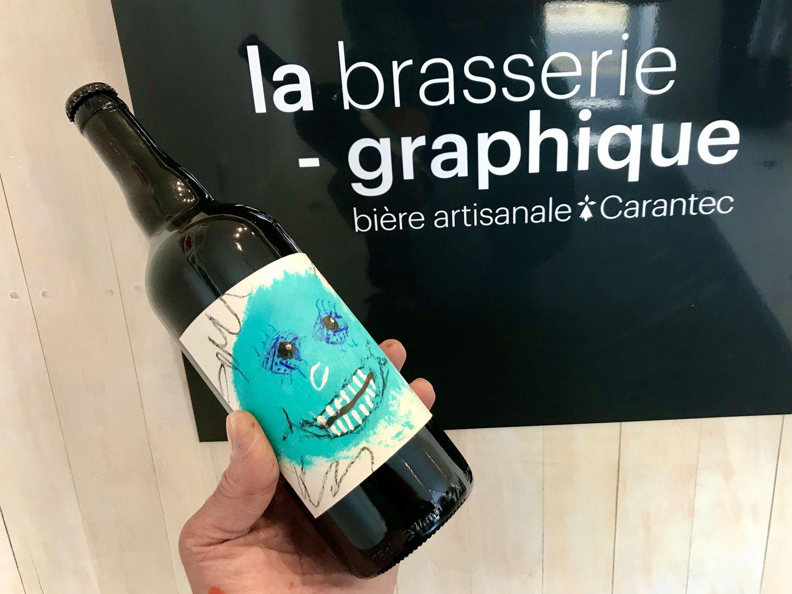 Un atelier de créativité à la Brasserie Graphique de Carantec