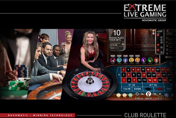 Extreme Live Gaming lance le Club Roulette