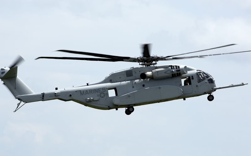 L'US Marine Corps réceptionne son premier CH-53K King Stallion
