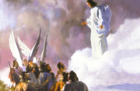 MISTERI GLORIOSI (Mercoledì e Domenica) - 2° mistero glorioso : L'ascensione di Gesù al cielo