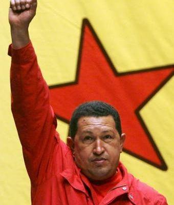 Les jeunes communistes (Paris 15/Bouches-du-Rhône) saluent en Hugo Chavez un président au service de son peuple et un authentique révolutionnaire