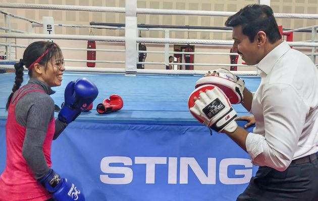 Mary trades punches with Sports Minister Rathore in 'fun session'