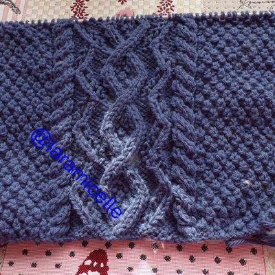 tricot : mon en cours layette