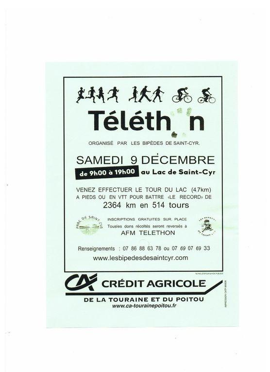 LES BIPÈDES SOUTIENNENT  AFM TELETHON !!!
