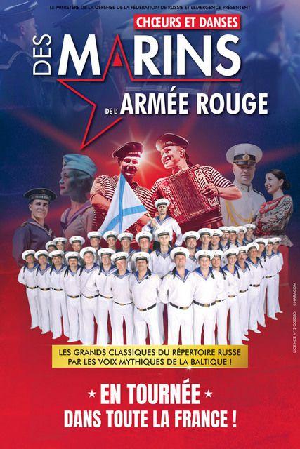 CHŒURS DES MARINS DE L'ARMÉE ROUGE