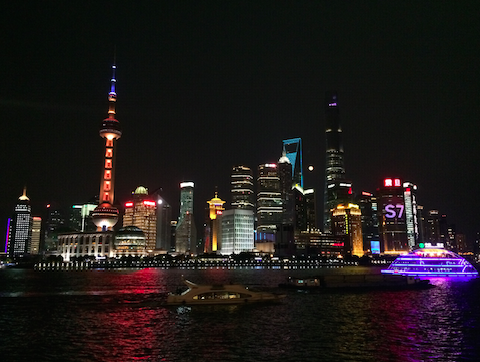 Pudong district, Huangpu River