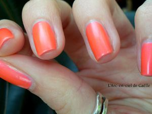 "China Glaze ""Flirty Tankini"" + mon retour"