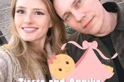 Tiësto and Annika, baby to come, it's a girl !! | une petite fille à venir !