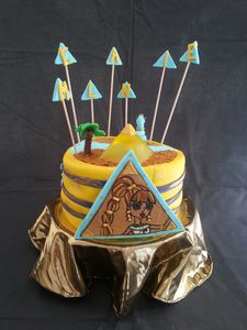 GATEAU D'ANNIVERSAIRE CLEO DE NILE - MONSTER HIGH