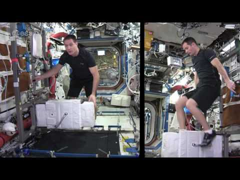 Space Station Fitness avec Thomas Pesquet