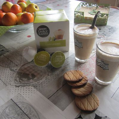 Test boisson Nescafé Dolce Gusto