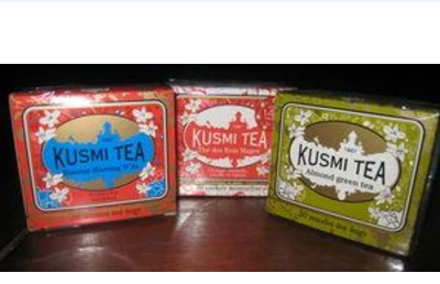 KUSMI TEA NOIR AUX 4 FRUITS ROUGES