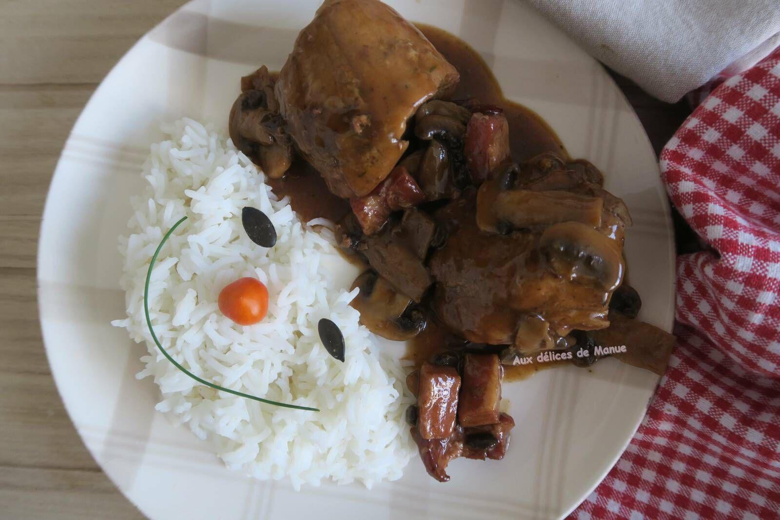 Filet mignon de porc aux champignons et porto, au Cookéo ou pas