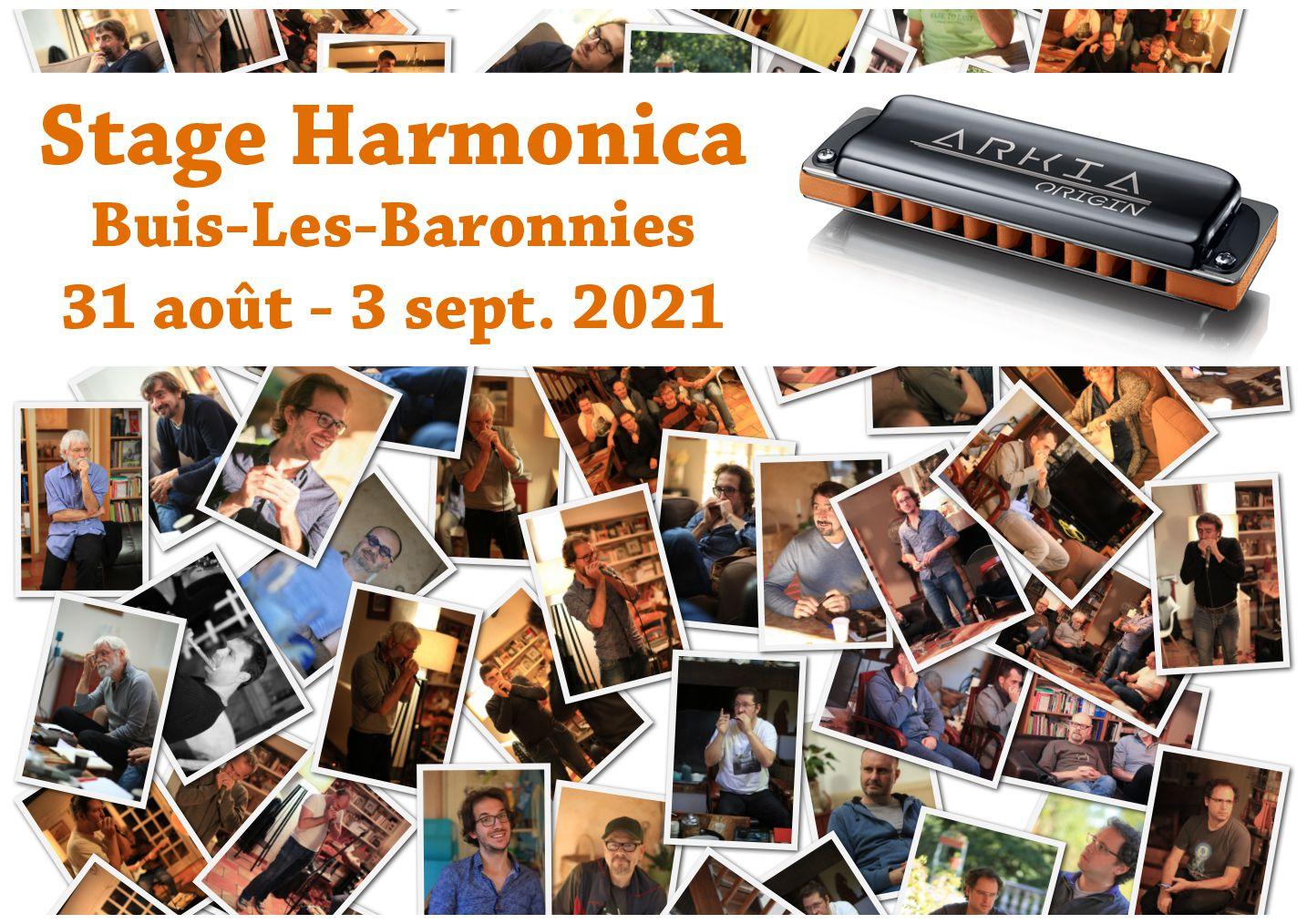 Stage Harmonica Buis-Les-Baronnies