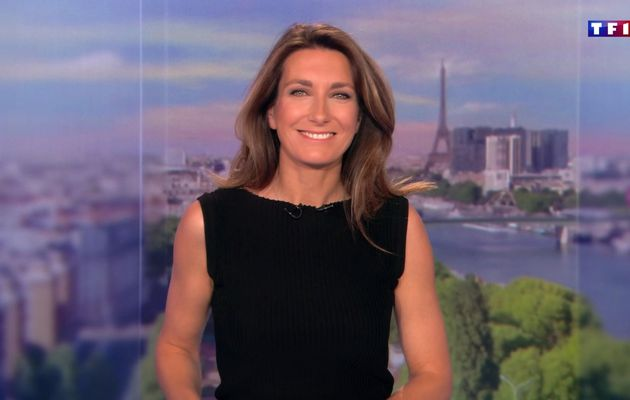 📸28 ANNE-CLAIRE COUDRAY @ACCoudray @TF1 @TF1LeJT pour LE 13H WEEK-END #vuesalatele