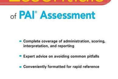 Epub books to free download Essentials of PAI