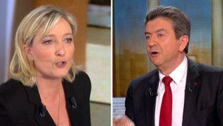 Législatives 2012 : Melenchon pourrait battre Marine Le pen