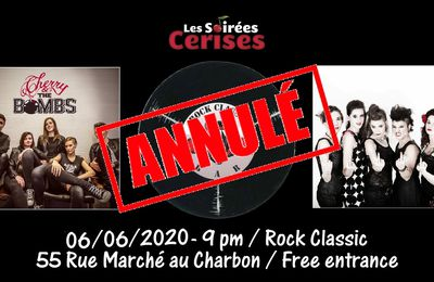 🎵 Cherry & the Bombs (The Runaways / Joan Jett tribute band) @ Rock Classic - 06/06/2020 - annulé