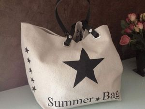 Ensemble Summer Bag sac et grande pochette