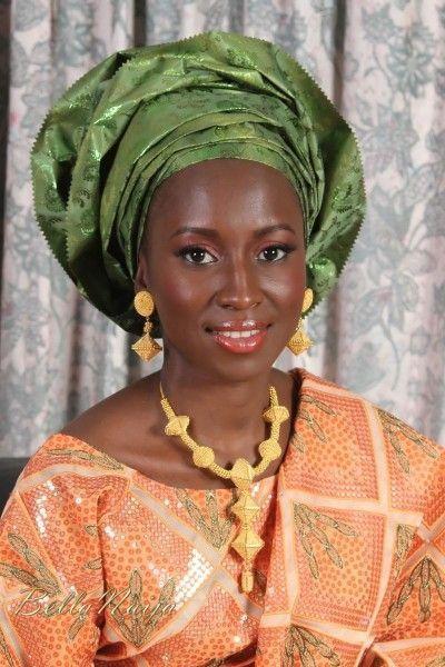 Imágenes mujer de la nación fulani, de la que pertene Aisha Buhari.- El Muni.