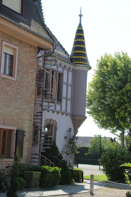 Diebolsheim, village fleuri