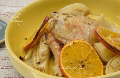 Poulet rôti aux fenouils et à l'orange de Yotan Ottolenghi