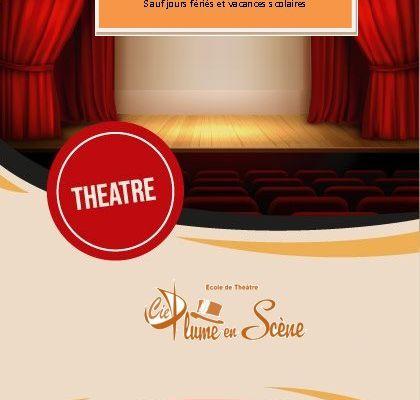Nouveau ! Ouverture au Centre Social Ouest Avenue à Sedan, cours de théâtre jeunes & adultes !