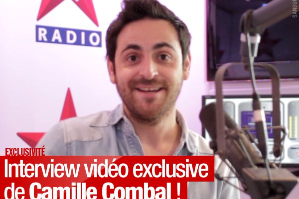 Interview vidéo exclusive de Camille Combal ! #CamilleSurSansure