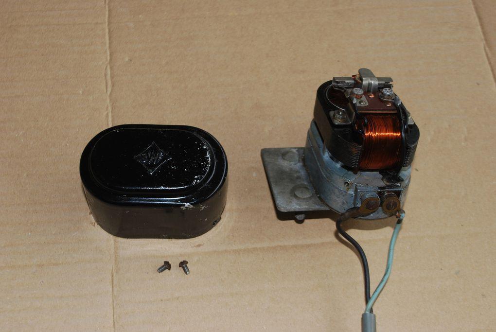 schéma électrique Ford allemand avant 1945 et Français aprés 1945 - moteur d'essuie glace