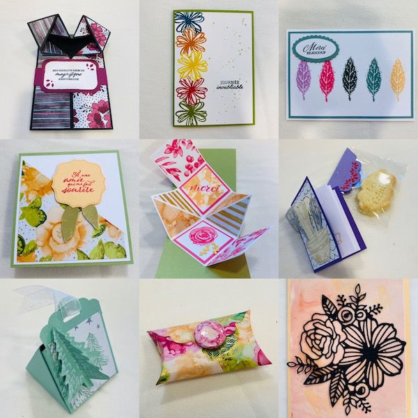 origami boite stampin up carterie loisirs créatifs france normandie fournitures