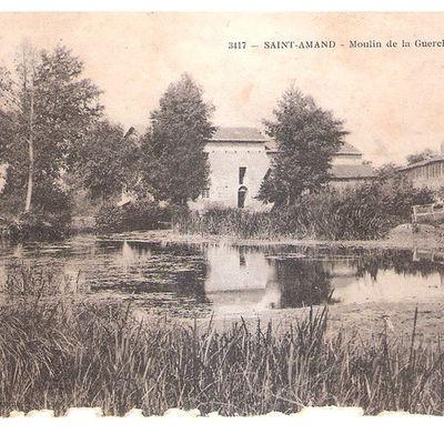 Carte postale : Saint Amand