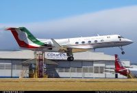 Mexican Air Force Gulfstream G-III présidential marking