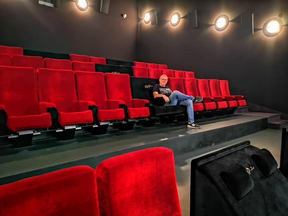 66 Post Covid19 : le retour aux cinéma, Clap Cinéma Canet Interview Jérome Quaretti par Nicolas Caudeville
